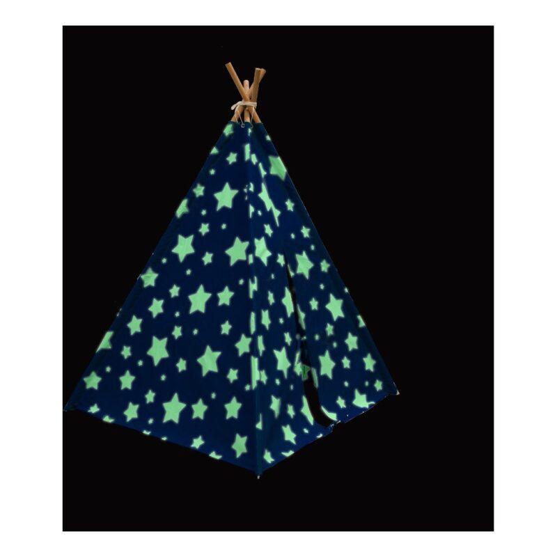 Cosmo Sterren Tent Sunny Tipi Tent Geeft Licht In Het Donker sunn-c052.102.01