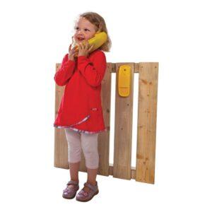 Gele Telefoon Voor Huisje Axi Samen Spel Axis-A509.010.03