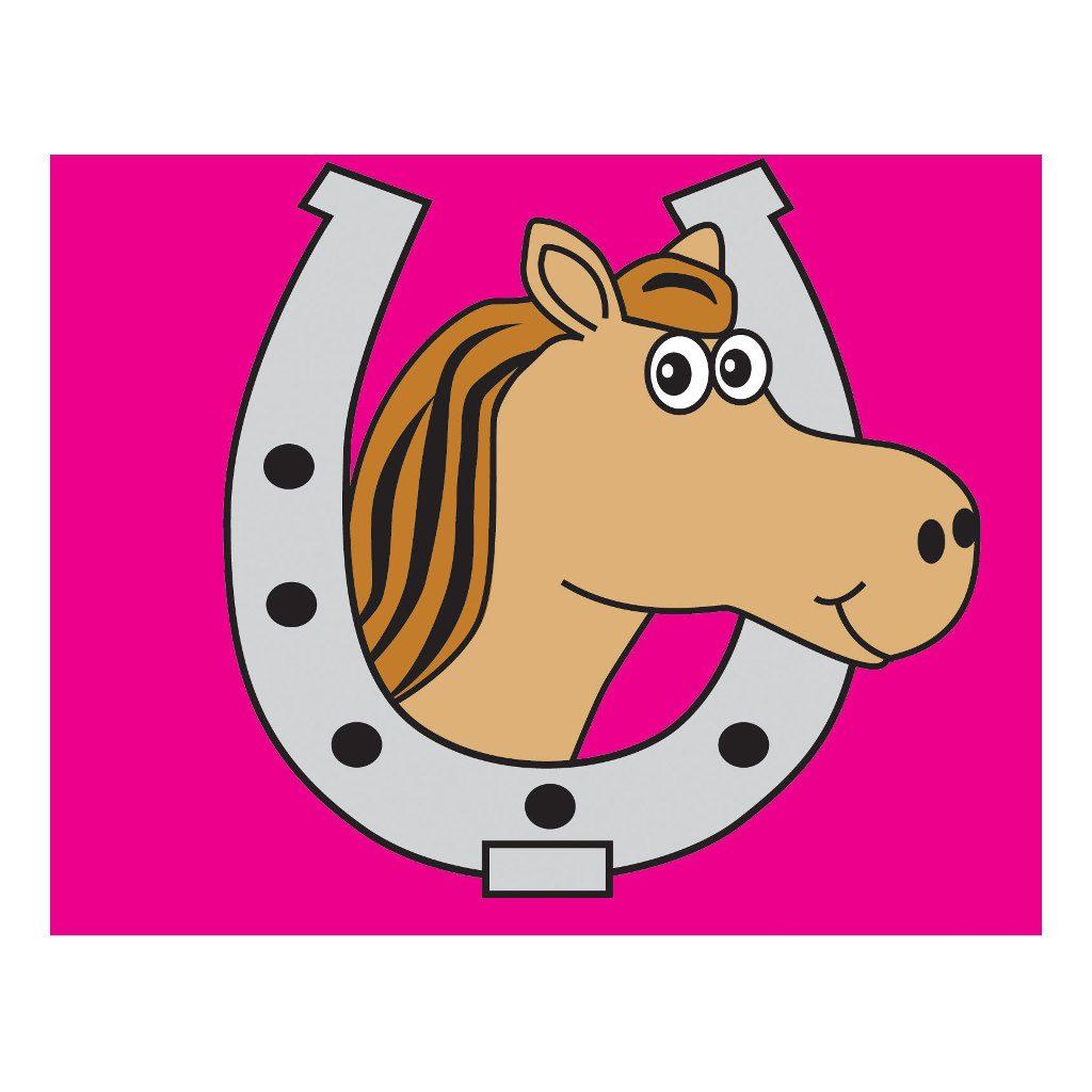 Paard Vlag Met Hijssysteem Speel Huis Tuin Huis Afbeelding Axi Axis-A507.014.00