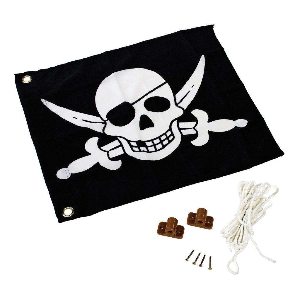 Piraat Vlag Met Hijssysteem Speel Huis Tuin Huis Axi Axis-A507.012.00