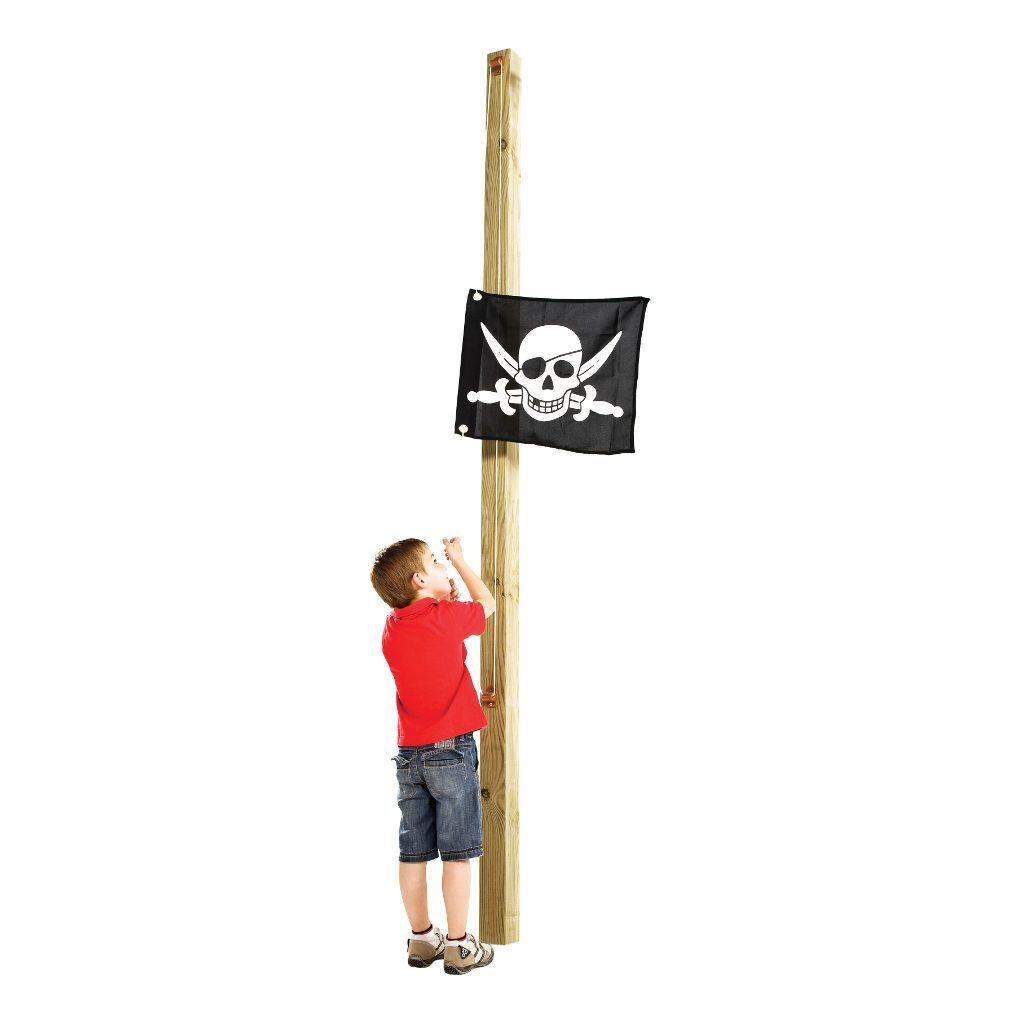 Piraat Vlag Met Hijssysteem Speel Huis Tuin Huis Hijsen Axi Axis-A507.012.00