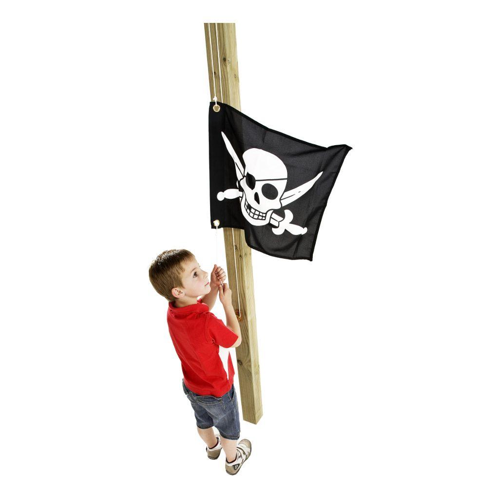 Piraat Vlag Met Hijssysteem Speel Huis Tuin Huis Kapitein Kind Axi Axis-A507.012.00