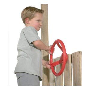Rode Stuurwiel Voor Huisje Axi Stuur Roer Huisje Aanvulling Mogelijkheden Axis-A501.010.01