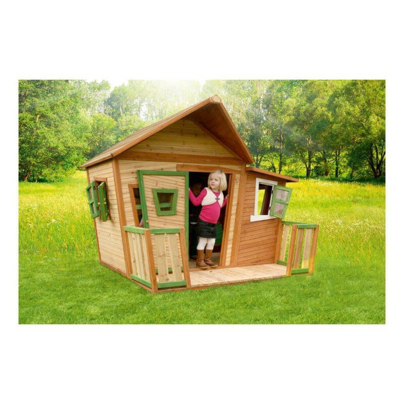 Speelhuis Lisa Axi Peuter Kleuter 18 Mnd 2 J 3 J 4 J 5 J 6 J 7 J 8 J Tuin Tuinhuis Tuinhuisje Speelhuisje Speel Huis Breed Laag Stevig Mooi Meisje Jongen 1 Axis-A030.107.00