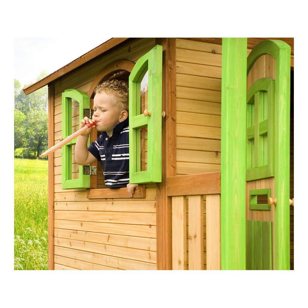 Speelhuis Marc Axi Peuter Kleuter 18 Mnd 2 J 3 J 4 J 5 J 6 J 7 J 8 J Tuin Huis Speelhuisje Zandbak Glijbaan Hoog Duurzaam Jongen Meisje 1 Axis-A030.042.00