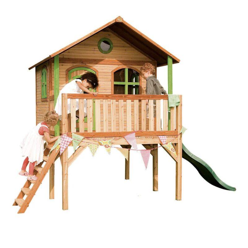 Speelhuis Sophie Axi Peuter Kleuter 18 Mnd 2 J 3 J 4 J 5 J 6 J 7 J 8 J Tuin Huis Speelhuisje Speel Huis Stevig Mooi Meisje Jongen 2.7 M Hoog Glijbaan Axis-A030.041.00