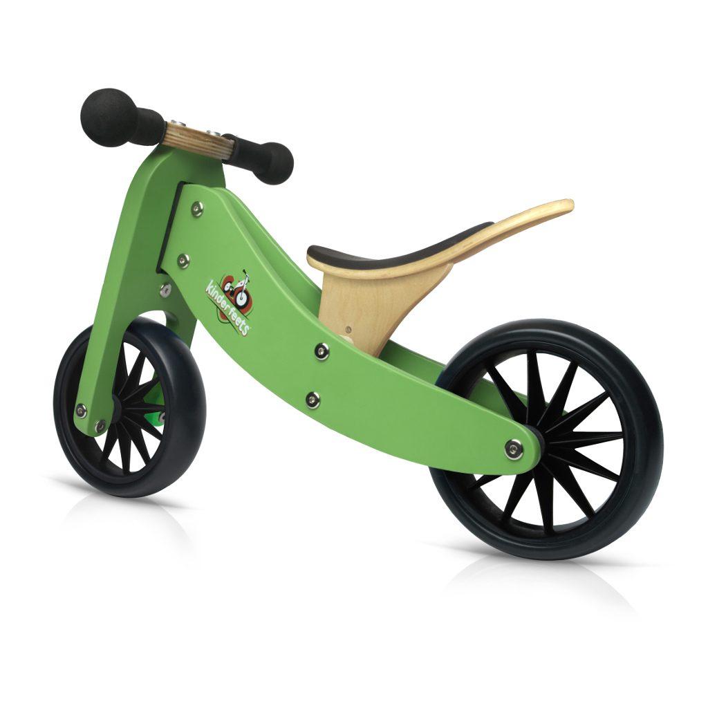 Tiny Tot Groen 2-in-1 Kinderfeets 2 Wieler Loopfiets kind-kf86644