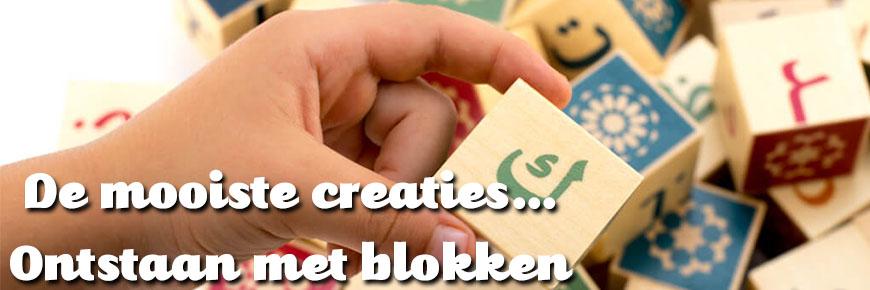 Houten blokpuzzels