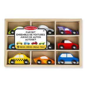 Autoset 9 St. In Kist | Melissa & Doug