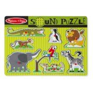 Dierentuin Dieren Puzzel Met Geluid | Melissa & Doug