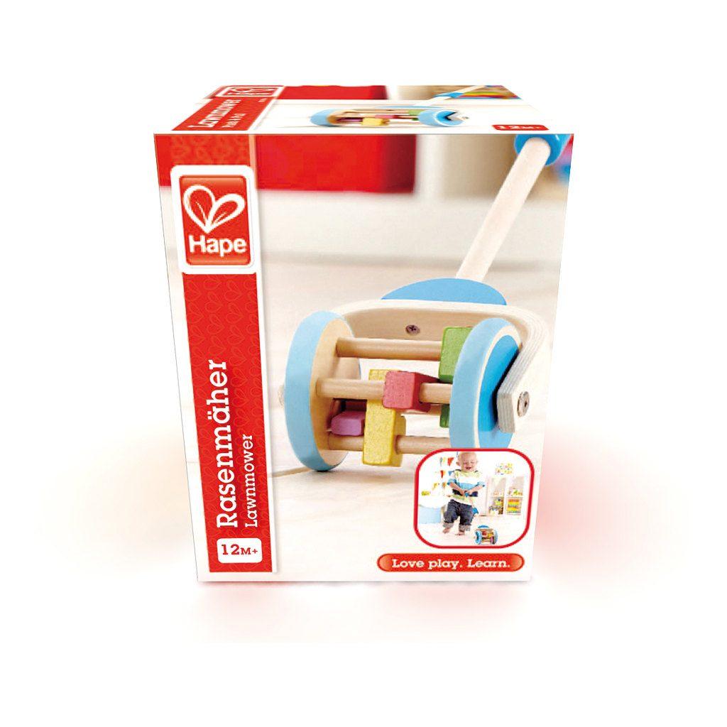 Grasmaaier Duwstok Hape Doos Verpakking Hape-E0345