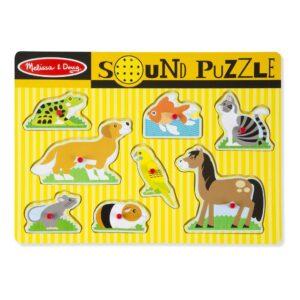 Huisdieren Puzzel Met Geluid | Melissa & Doug