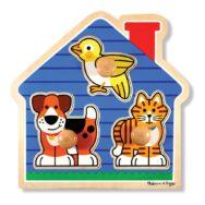 Huisdieren Puzzel Met Grote Knoppen | Melissa & Doug