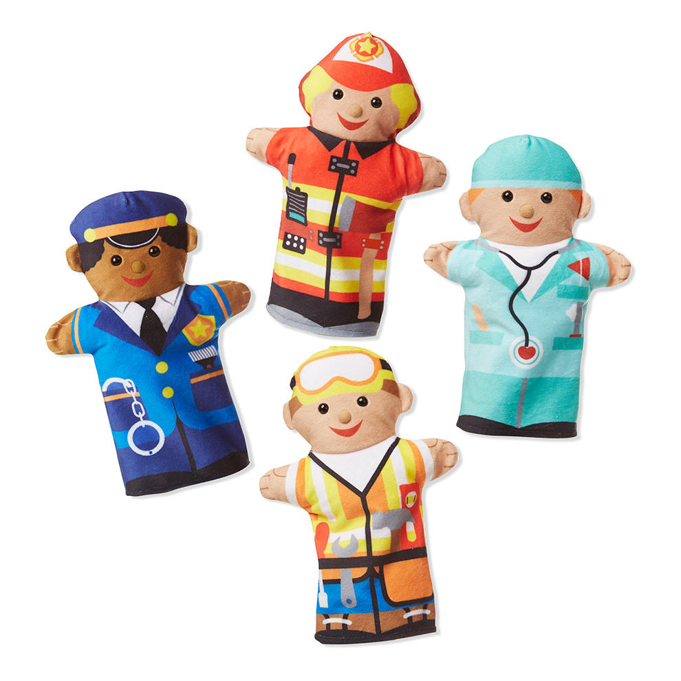 Hulp Figuren Handpoppen Melissa And Doug meli-19086