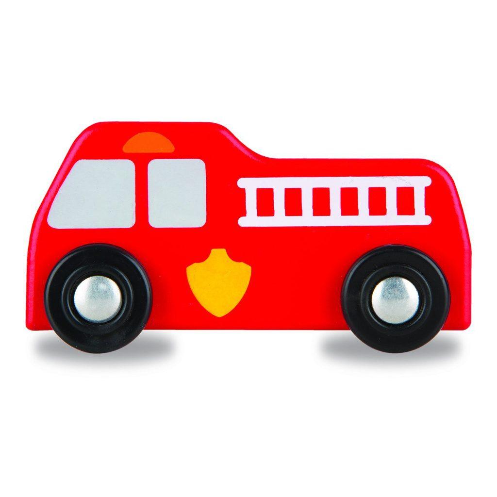 Hulpdiensten Speelkleed Melissa & Doug Brandweerwagen Rood. Meli-19406 1024X1024