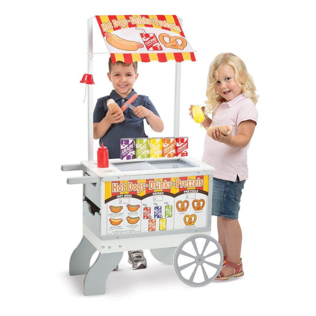 Ijs En Hotdog Kraampje Melissa & Doug Jongen En Meisje Bij De Hotdogkraam Meli-19350 1024X1024