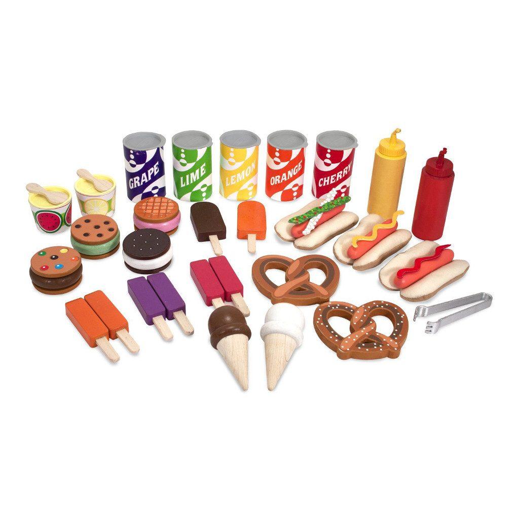Ijs En Hotdog Kraampje Melissa & Doug Verkoop Eten Meli-19350 1024X1024