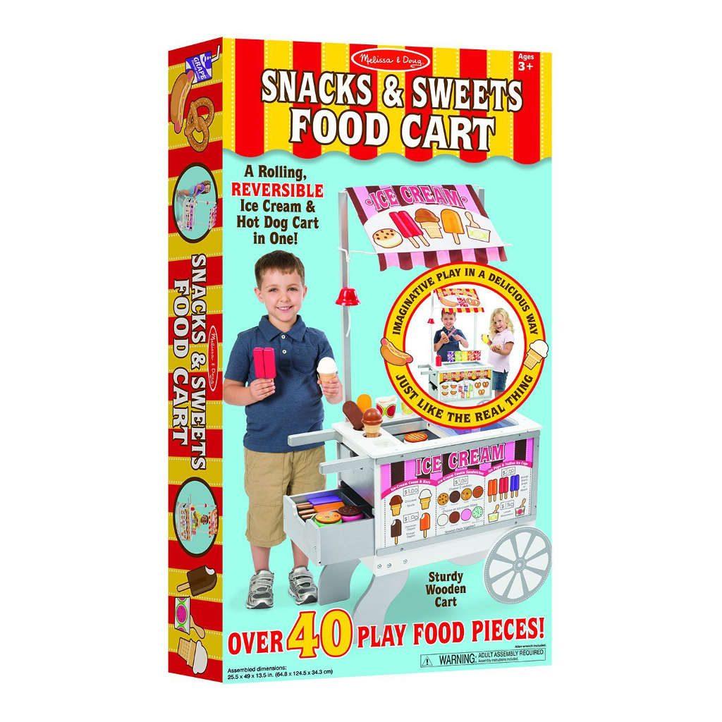 Ijs En Hotdog Kraampje Melissa & Doug Verpakking Ijs En Hotdogkraam Meli-19350 1024X1024