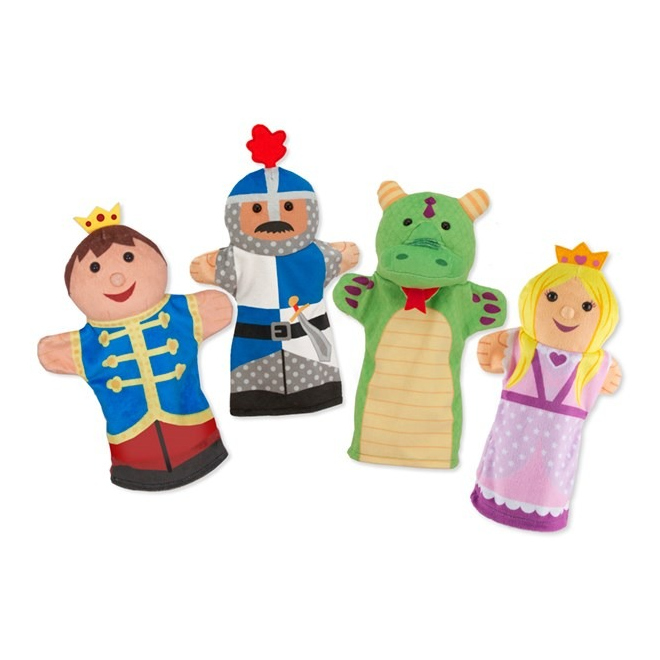 Kasteel Figuren Handpoppen Melissa And Doug meli-19082