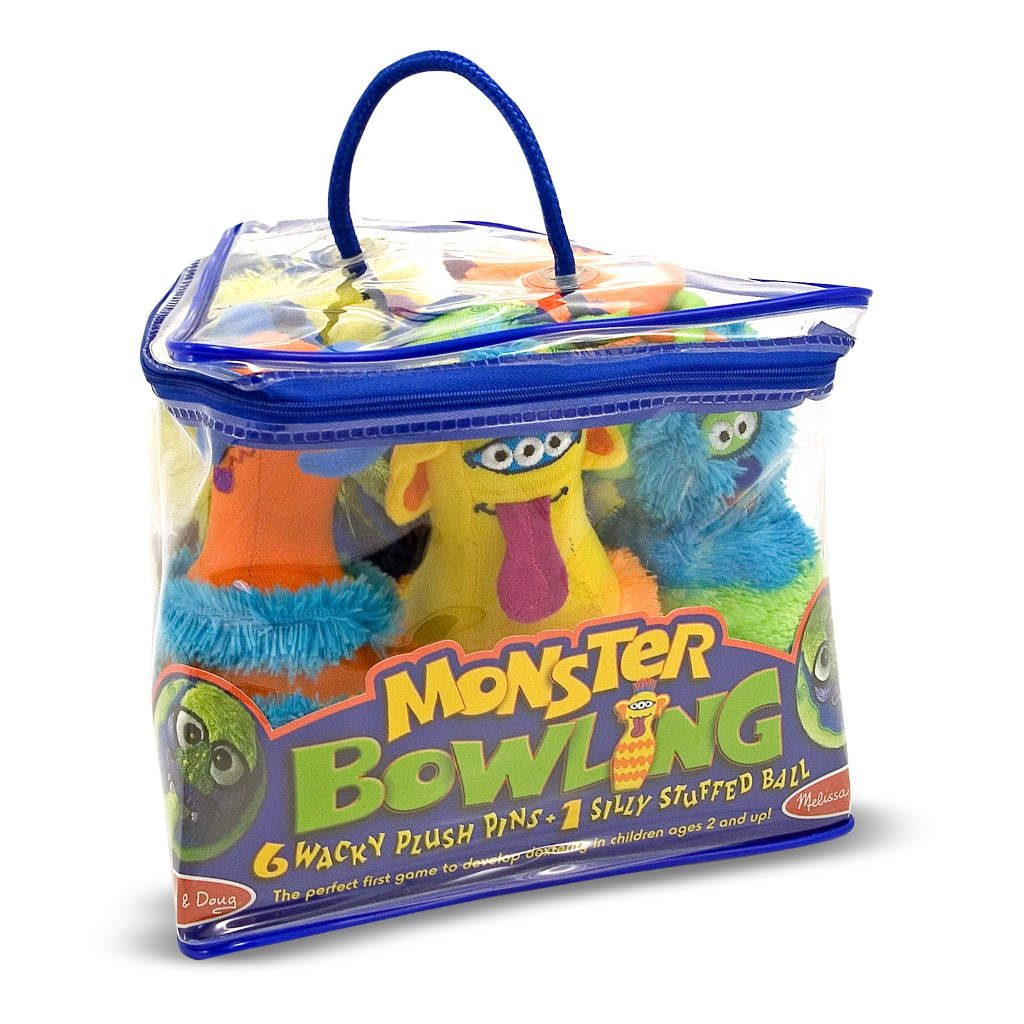 Monster Bowlen Grappige Dieren Kegelen Melissa And Doug Meli-12210