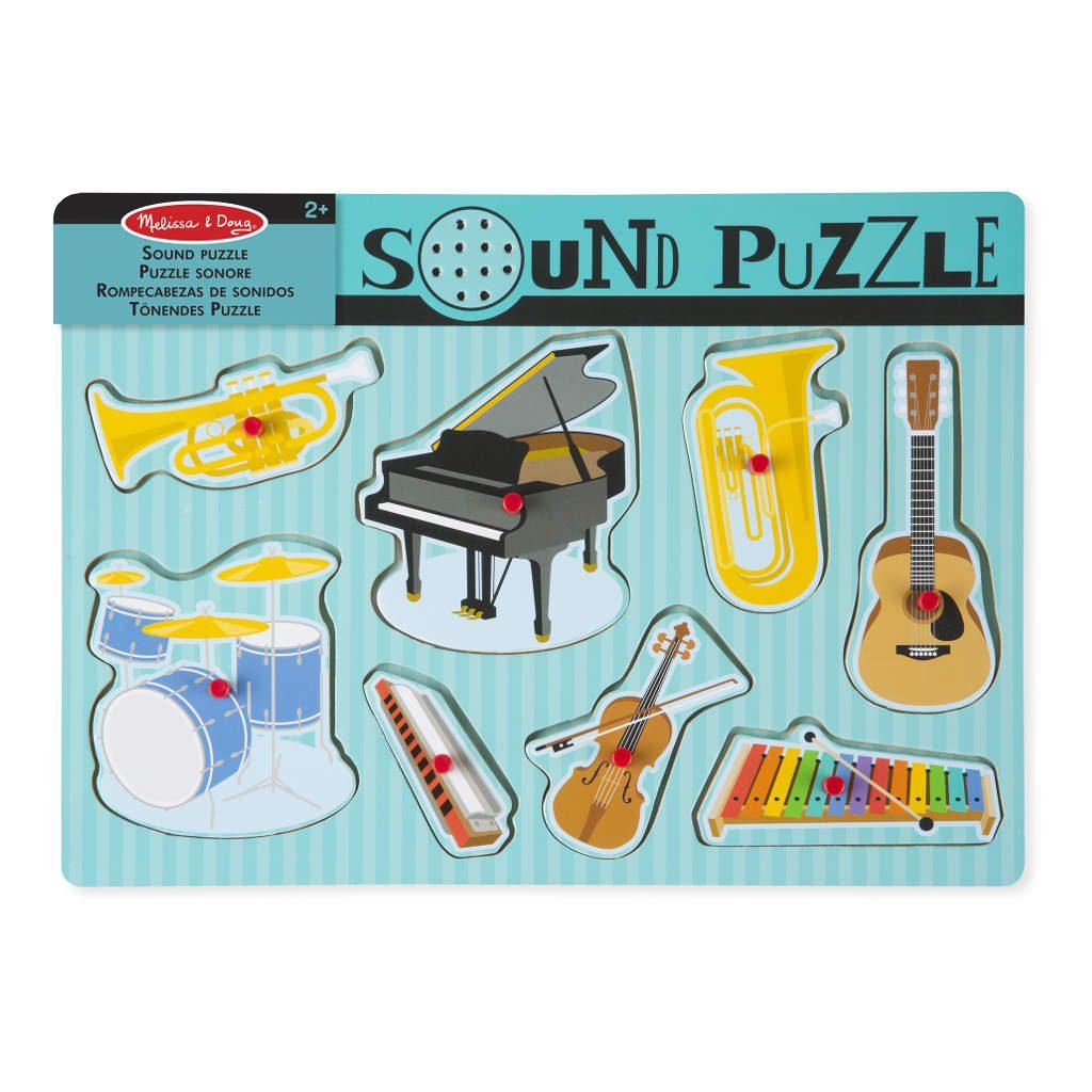 Muziekinstrumenten Puzzel Met Geluid | Melissa & Doug