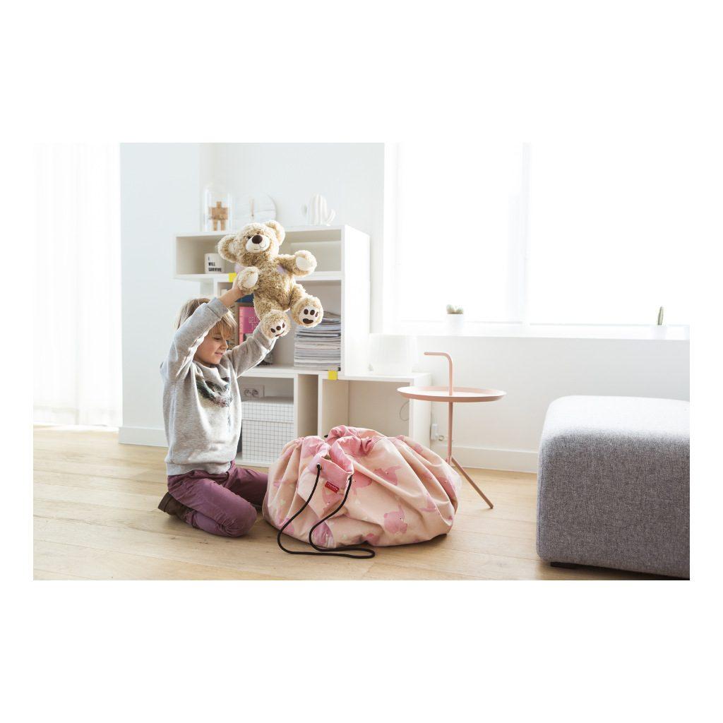 Pink Elephant Play And Go Olifant Opbergzak Vrolijk Eye Catcher Speelkleed Play-180162750