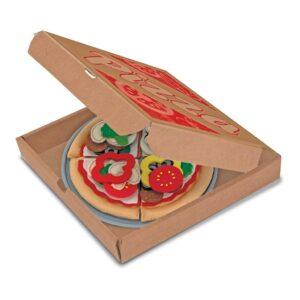 Pizzaset Voedsel Van Vilt | Melissa & Doug