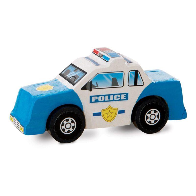 Reddingsvoertuigen Zelf Versieren Politie Police Knutsel Auto Melissa And Doug Meli-19528