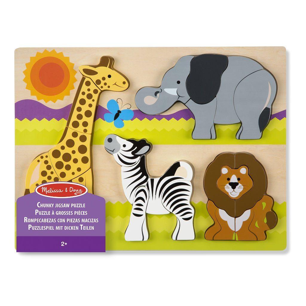 Safari Dikke Puzzel | Melissa & Doug