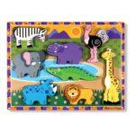 Safari Figuren En Dikke Puzzel | Melissa & Doug