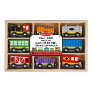 Treinwagonnetjes 8 St. In Kist | Melissa & Doug
