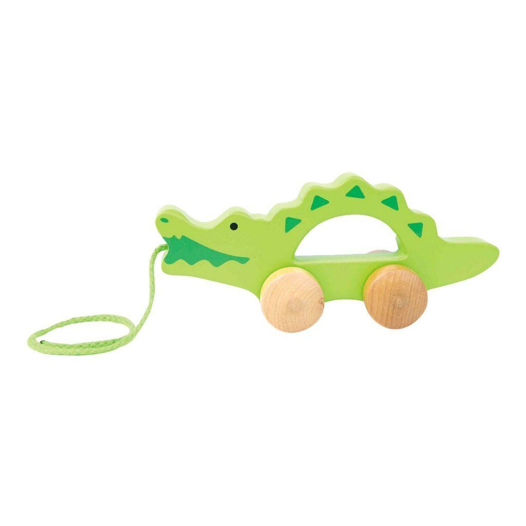 Trekfiguur Krokodil Hape Dier Trek Loop Touw Hape-E0907