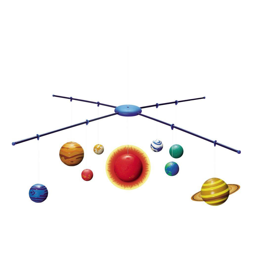 3D Model Zonnestelsel 4M Kidzlabs