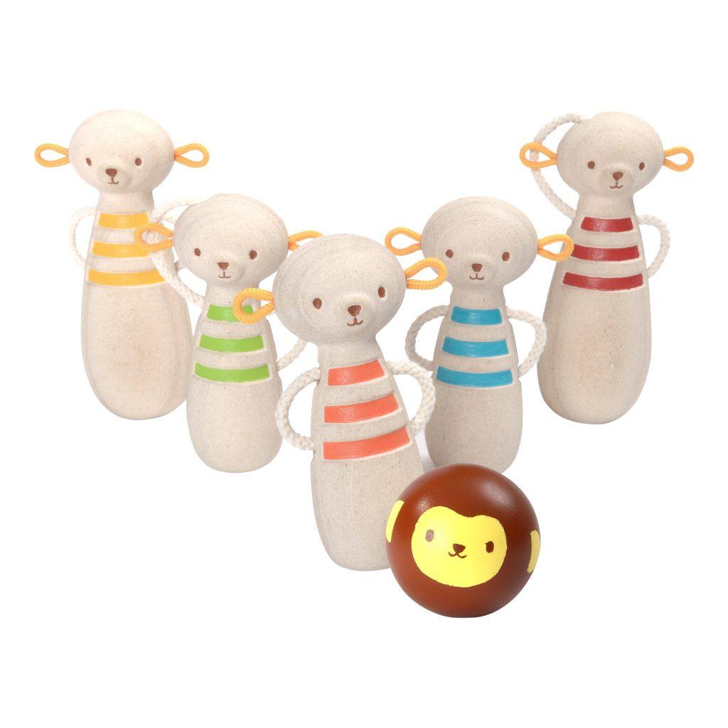 Aapjes Bowlen Plan Toys