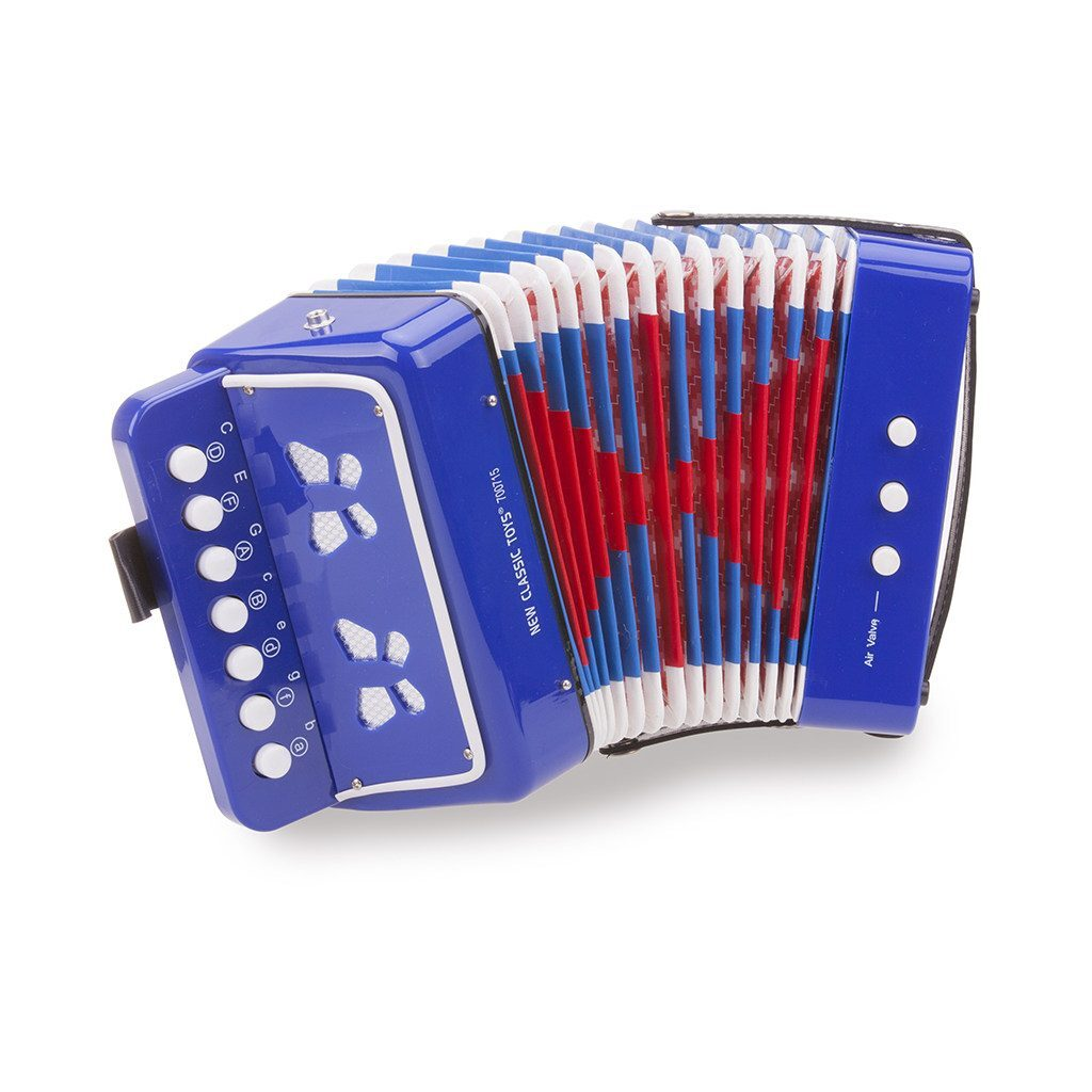 Accordeon Blauw New Classic Toys