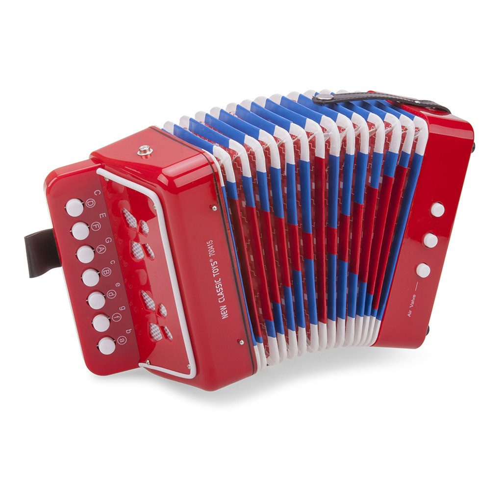 Accordeon Rood New Classic Toys