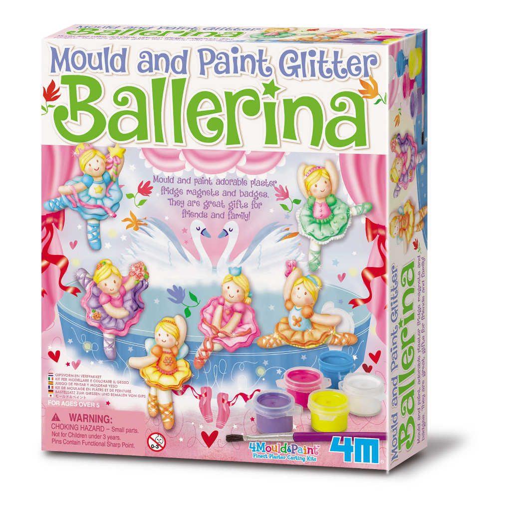 Ballerina Gips & Verf