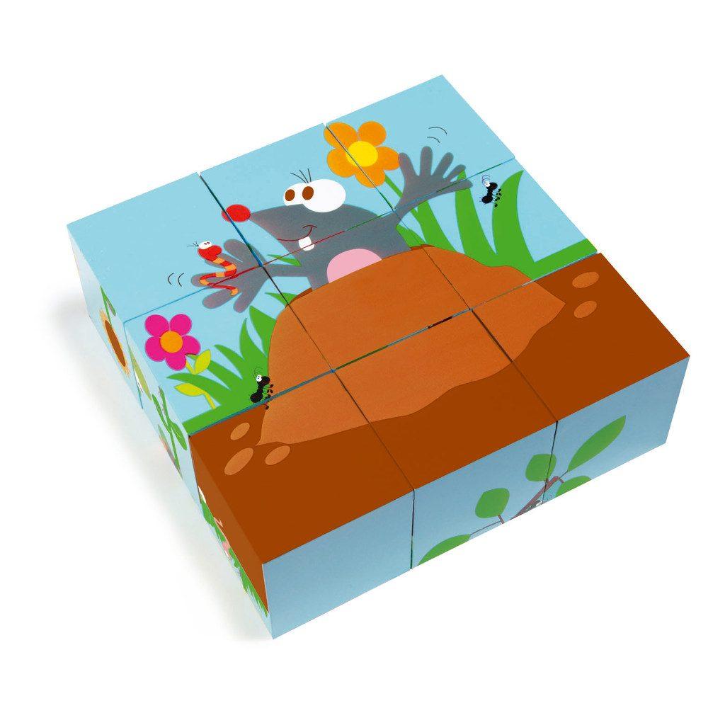 Bos Blokkenpuzzel Scratch