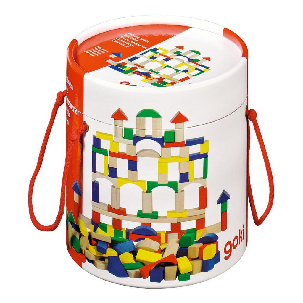 Bouwsteentjes 100 goki kopen qiddie for Construction cube bois