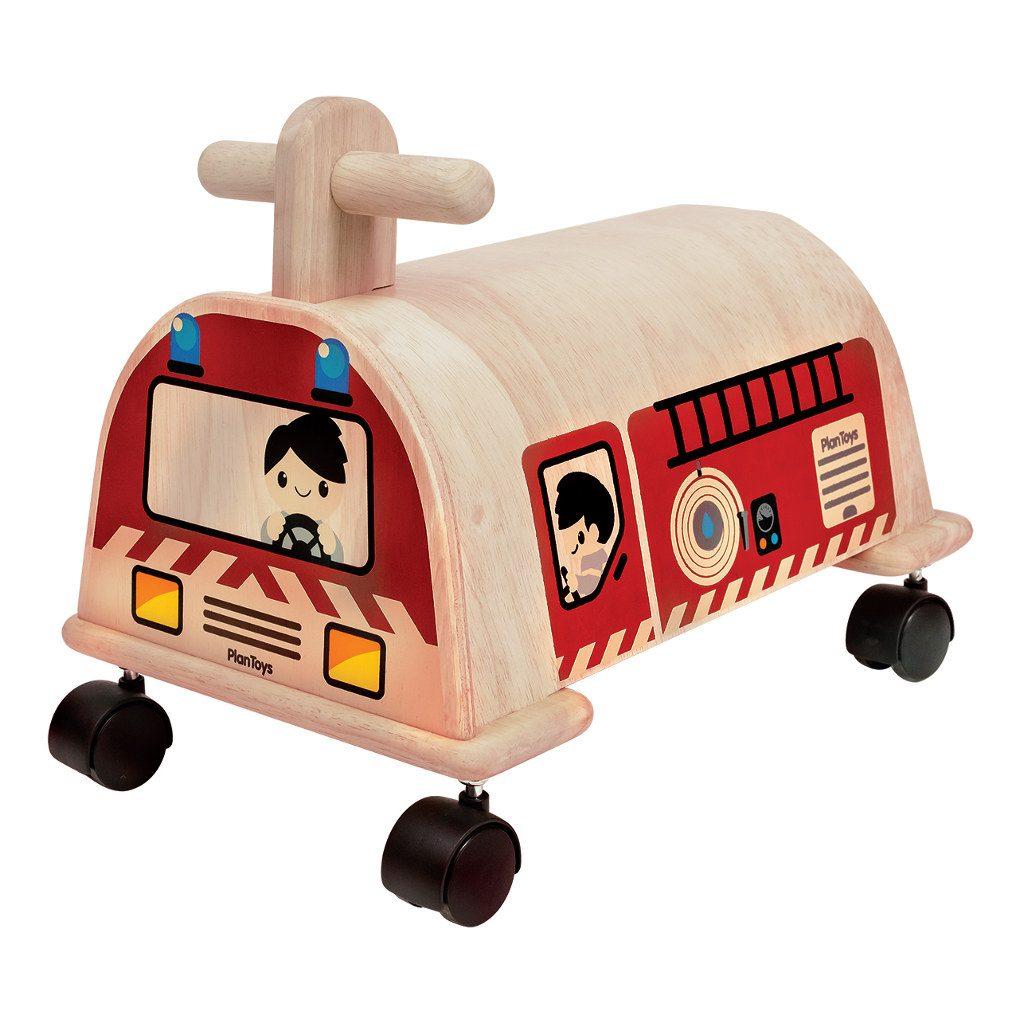 Brandweer Loopwagen Plan Toys