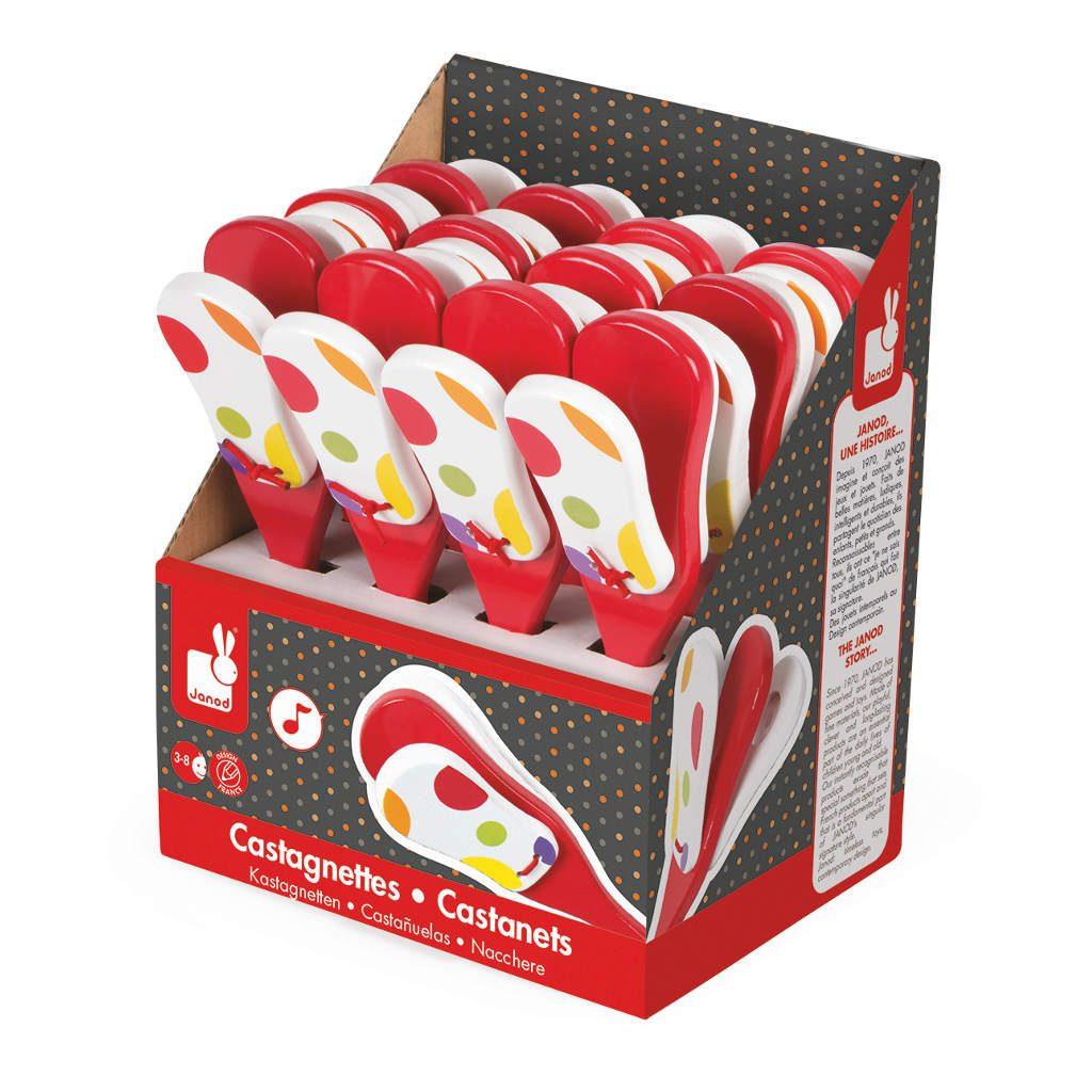 Castagnette Confetti Janod