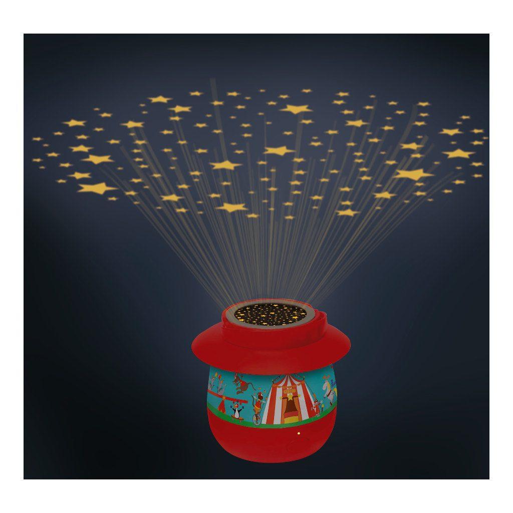 Circus Projectie Nachtlampje