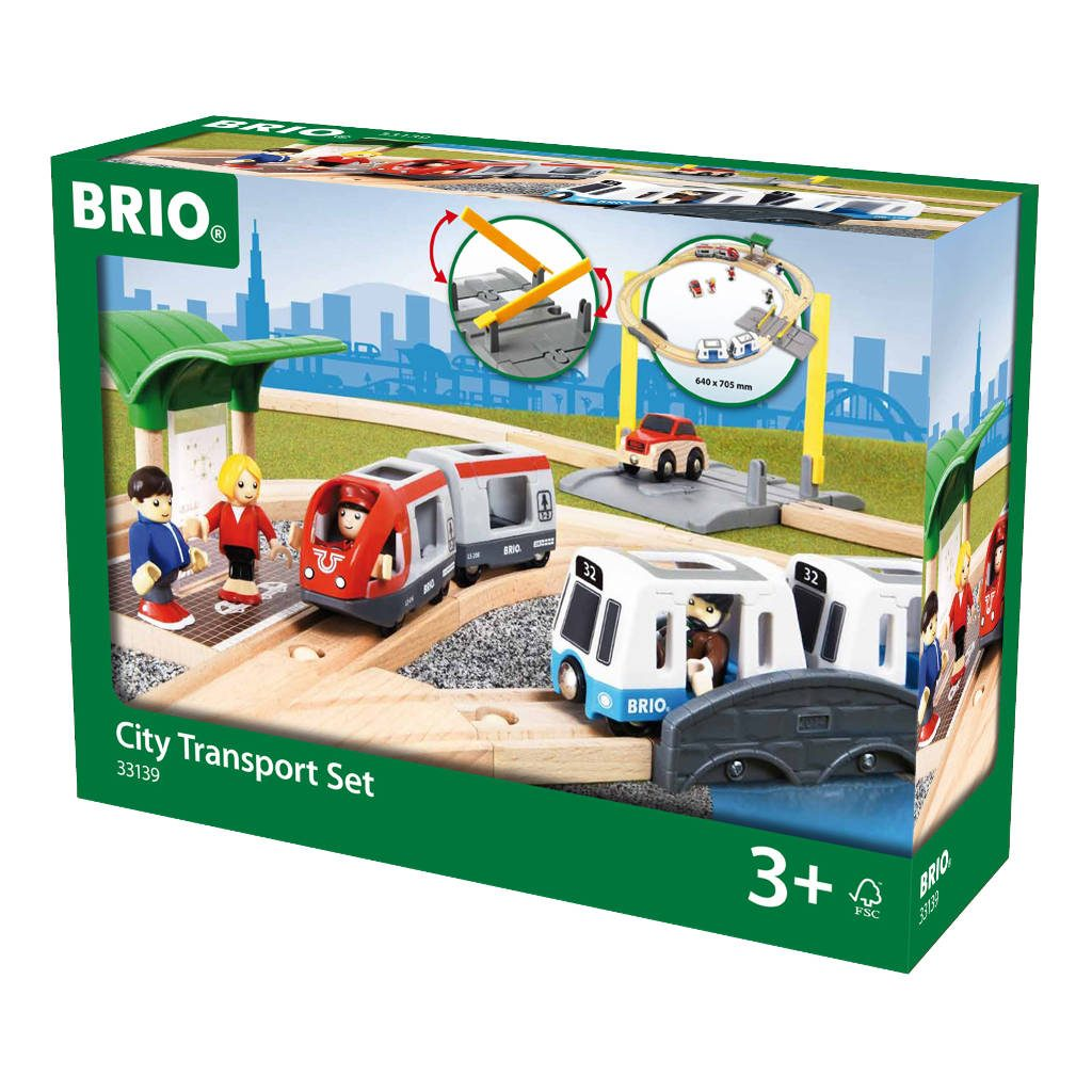 City Transport Set Brio