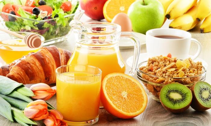 Croissant en vruchtensap