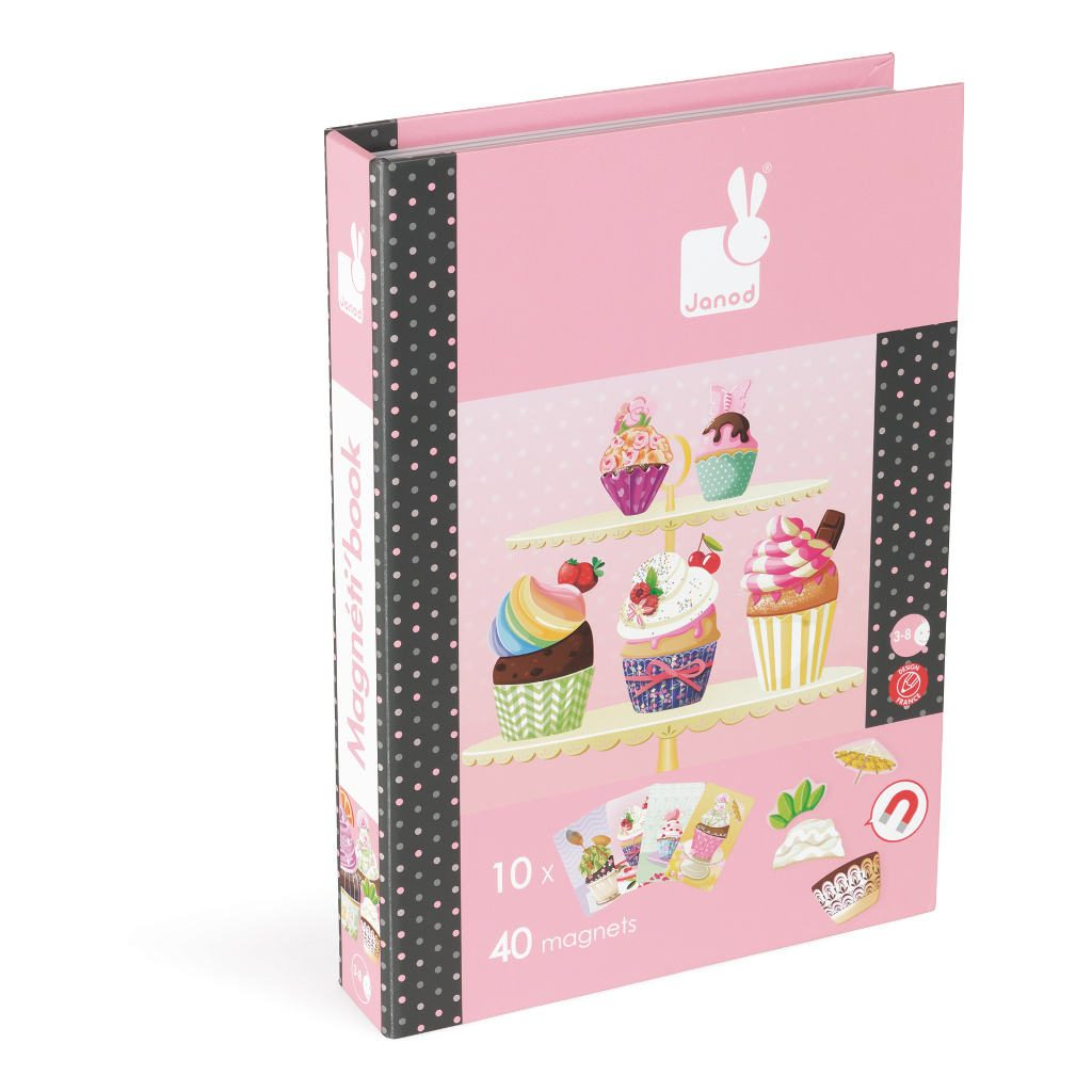Cupcake Magneetboek Janod