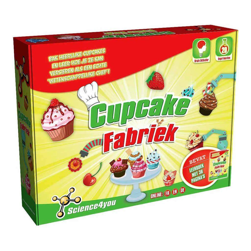 Cupcakefabriek Science4You