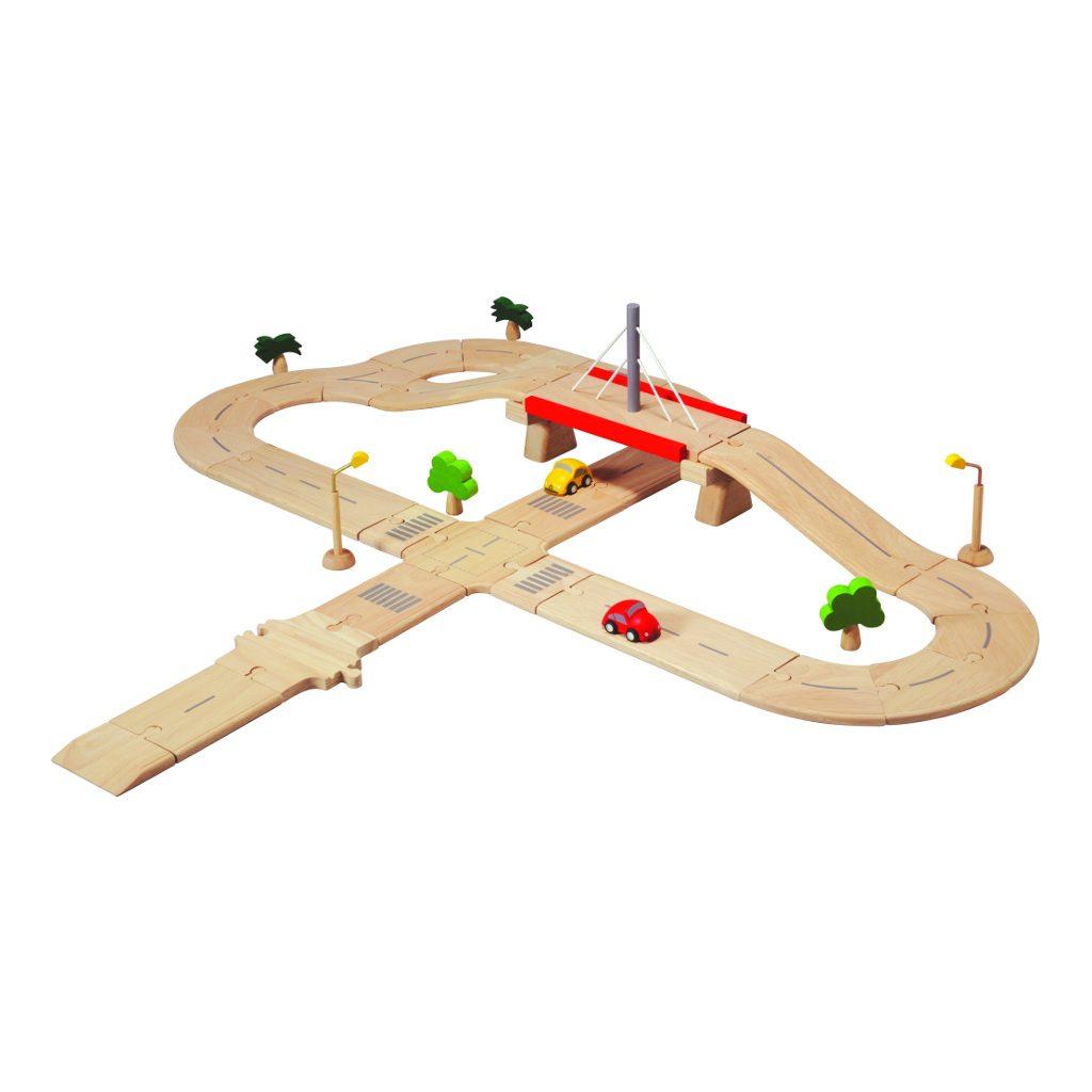 Deluxe Wegsysteem Hout Plan Toys