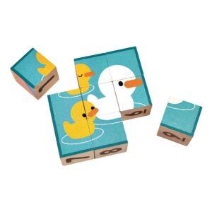 Eendjes Blokpuzzel Plan Toys