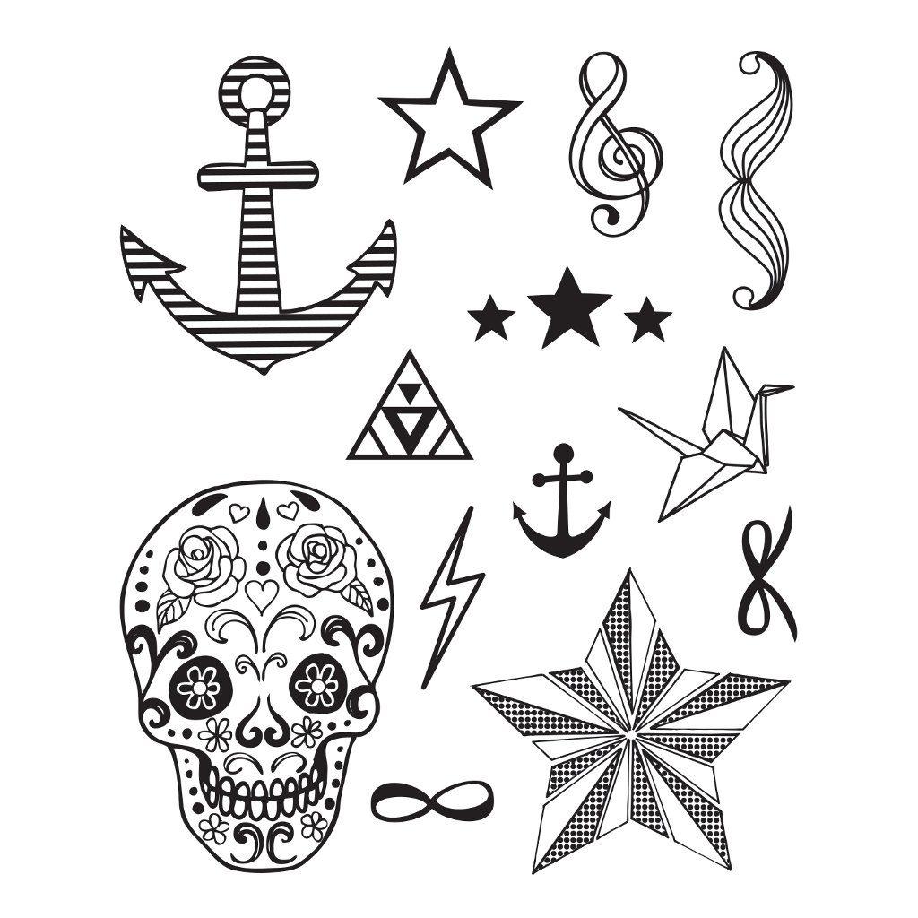 Fashion Tattoo Stempelen