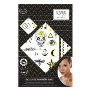 Fluo Tattoo Stickers